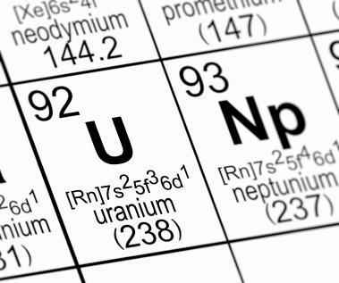 Uranium in Period Table