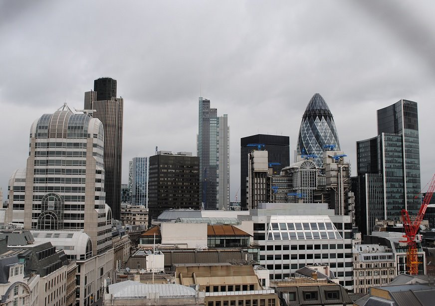View of the City of London from Monument