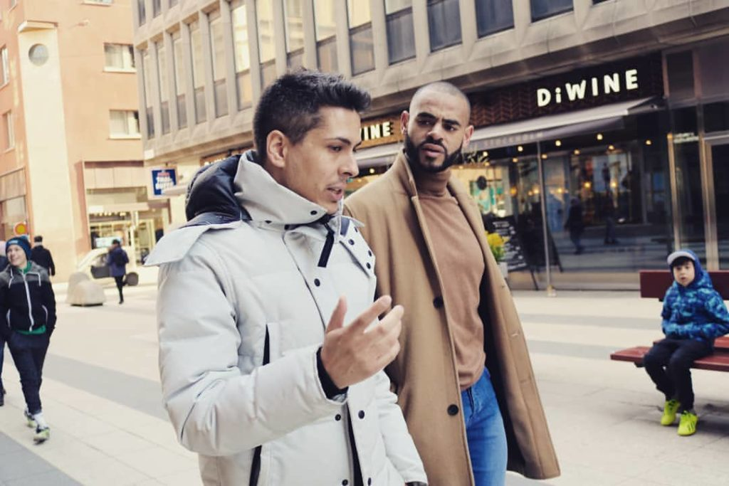 Ken Chigbo, founder of FreakNet; analyst. successful crypto and Forex trader and Arif Alexander Ahmad, founder of Scandinavian Capital Markets in Stockholm, 2019